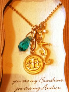 Sea themed necklace