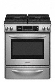 Slide-in Electric Range True Convection Oven Beveled Glass Cooktop Contoured Front Control Knobs Four Elements Three Double-ring Elements Architect(r) Series Ii Kitchen Aid Appliances, Kitchen Stove, Kitchenaid Architect Series, Ranger, Slide In Range, Gas Stove Top, Electric Stove, Glass Cooktop, Fun Cooking