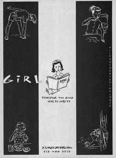 Girl ad, 1993.