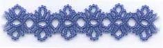 Free Bead Patterns and Ideas by Sandra D Halpenny : Round Lace Bracelet FREE Pattern