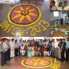 HAPPY ONAM: Aegis Global Academy's Batch of 2013 participants celebrated ONAM with all the fervor and the festivities. Thanks to Pratheepa Anilkumar for her wonderful and brilliant rangoli that captured the mood, Chandrakala Palaniswamy for her wonderful payasam, the occassion was made memorable. Thanks to all my other colleagues the occassion was splendid. Happy ONAM to everyone...