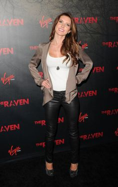 Audrina Patridge, I love her style and the leather pants