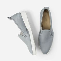 The Everlane Street Shoe in Slate-love these, they are so comfortable