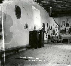 San Agustin Catholic Church interior, Isleta Pueblo, New Mexico :: Albuquerque Museum Photo Archives
