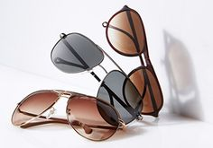Men's Sunglasses Ft. Cole Haan -   Even if the air is chilly, the sun still shines brightly. Protect your eyes—and your style—with a pair of sunglasses from this sharp collection. Wire frames are slick. Bold updated aviators make a statement. And retro-inspired tortoise frames are time-tested classics.                            ...  #Frame, #Mirror, #Sunglasses, #Wayfarer
