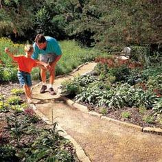 Photo 1: Gravel paths are simple to build