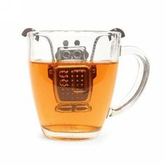 Stainless Steel Hanging Robot Loose Tea Infuser