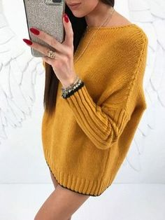Free Knitting Pattern for Cedar Hill Pullover - This long-sleeved sweater features ribbed sleeves and high low hem with stockinette body and v-neck. Knit Cardigan Pattern, Sweater Knitting Patterns, Lace Knitting, Knitting Designs, Knitting Sweaters, Sweater Fashion, Pulls, Knitted Hats, Knitwear