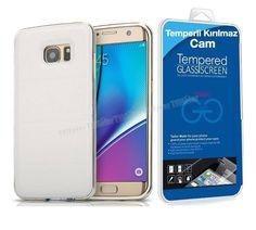 Samsung Galaxy S7 Edge Derili Metal Kılıf Kapak Beyaz + Kırılmaz Cam Kavis Kısmı Dahil -  - Price : TL64.90. Buy now at http://www.teleplus.com.tr/index.php/samsung-galaxy-s7-edge-derili-metal-kilif-kapak-beyaz-kirilmaz-cam-kavis-kismi-dahil.html
