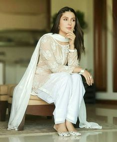 Produced by : Idream entertainment Directed by : Siraj ul haq Written by : Maha Malik Hair and makeup : Sajid wahab Khussa : Pakistani Fashion Casual, Pakistani Dresses Casual, Pakistani Dress Design, Indian Fashion, Pakistani Couture, Pakistani Bridal, Style Fashion, Stylish Dresses, Simple Dresses