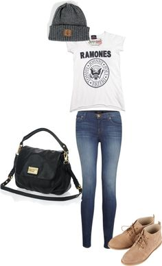 """""""inspired outfit with a obey hat"""" by hayleycarbran ❤ liked on Polyvore"""