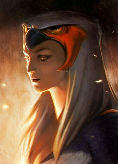 Female Oracle - Pathfinder PFRPG DND D&D d20 fantasy