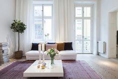 Bilder, Vardagsrum, Fönster, Gardiner, Soffa - Hemnet Inspiration