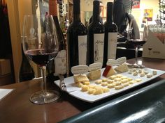 Wine and Cheese pairings available Thurs-Sun for $15!