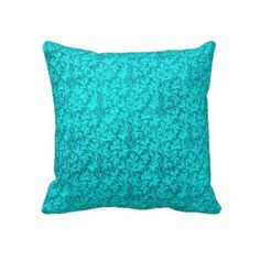 Decorating with Teal Throw Pillows #CroscillSocial