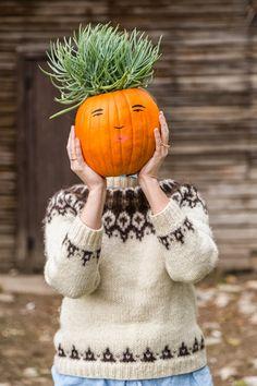 Make a pumpkin family