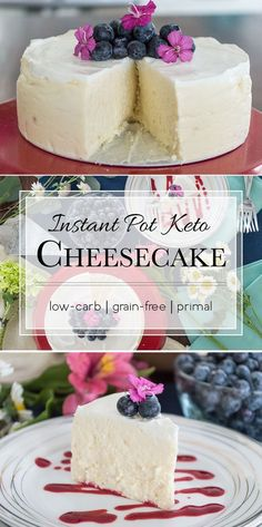This low-carb cheesecake is loaded with 23.8g of fat and only 3g carbs. Now you can have your cake and eat it too. #keto #primal #healthydietrecipeslowcarb