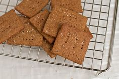 Home made Graham Crackers— Oh She Glows