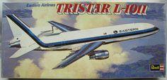 Revell Eastern Tristar L-1011 Airliner Model Kit.