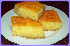 Revani.  Traditional Turkish dessert recipe.  Looks good!