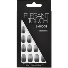 Elegant Touch False Nails (19 CAD) ❤ liked on Polyvore featuring beauty products, nail care and nail treatments