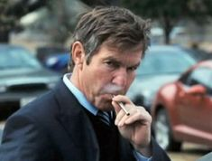 Celebrities have been spotted puffing away as they go about their lives. Dennis Quaid was photographed with his e-cig in a Hollywood parking lot.