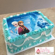 Cake for chrissel Kuchen für Chrissel Elsa Birthday Cake, Frozen Themed Birthday Cake, Frozen Themed Birthday Party, Disney Frozen Birthday, 5th Birthday Party Ideas, Themed Cakes, 4th Birthday, Disney Frozen Cake, Frozen 2