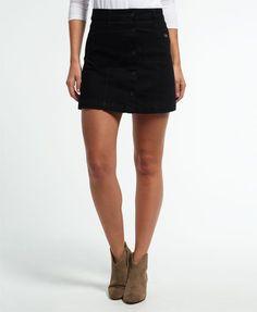 Superdry Mini-jeansrokje met A-lijn online kopen