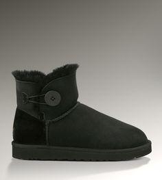 Ugg Bailey Button Mini 3352 Black Boots