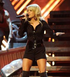 Carrie Underwood performs onstage at the 50th Annual GRAMMY Awards held at Staples Center on Feb. 10, 2008, in Los Angeles