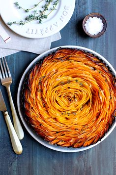 Why whip up hasselback potatoes - or hasselback apples - when you can prepare my healthy and vibrant twist on the dish?