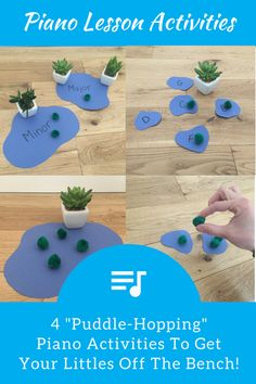 Four Pond-Hopping Piano Exercises To Get Littles Off The Bench