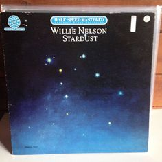 WILLIE NELSON Stardust LP 1980 HALF SPEED MASTER HC 45305 audiophile #OutlawCountry