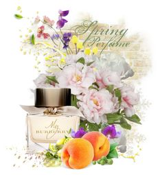"""""""In Bloom: Spring Perfume"""" by lenochca ❤ liked on Polyvore featuring beauty, Burberry, Sweet Pea by Stacy Frati and springperfume"""