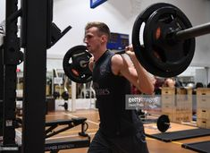 Rob Holding of Arsenal during Arsenal Training Session at Singapore American School on July 2018 in Singapore. David Price, Arsenal, Singapore, July 24, Gym, Seasons, Stock Photos, American, School
