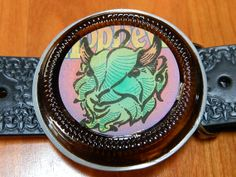 Victory Brewing  HOP DEVIL Belt Buckle handcrafted by by BrewPaw, $28.99