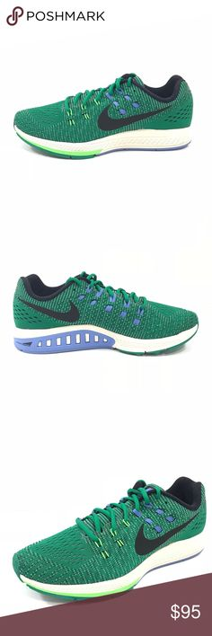 Nike Air Zoom Structure 19 Athletic Running Shoes Nike WMNS Air Zoom Structure 19 Athletic Running Trainer Shoes Sz 11 806584-303  New without box and unworn. Excellent condition; except, minor silver markings on soles.  Size - 11 US / 8.5 UK / 43 EU Color - Green Material - Synthetic Style - Athletic Sneakers; Running, Cross-Training Activity - Running, Fitness, Cross Fit, Cross-Training Production Line - Zoom  Original box not included. Nike Shoes Athletic Shoes