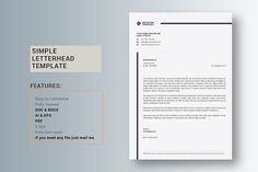 Church Letterhead By Wavebreak On Creativemarket  Presentation