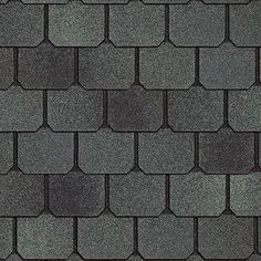 Carriage House Shingle In Colonial Slate By Certainteed