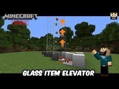 Minecraft Tutorial [NL]: Glass Item Elevator (English subs)
