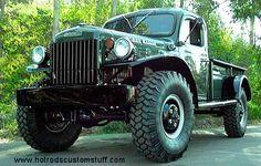 1957 Dodge Power Wagon ~ love it Old Dodge Trucks, Old Pickup Trucks, 4x4 Trucks, Cool Trucks, Custom Trucks, Dodge Power Wagon, Panel Truck, Vintage Trucks, Classic Trucks