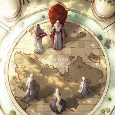 Wina Oktavia You saved to Fantasy Webcomic Traceless Knight Environment Art; Digital Art; Fantasy Art; Battlefield; Ruined City; Magic City; War; Traceless Knight