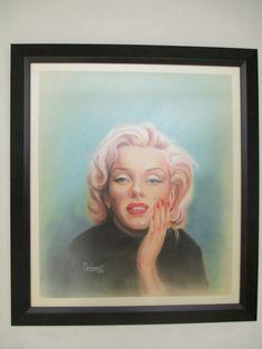 Marilyn - Pastel Gerardo Vejarano T.