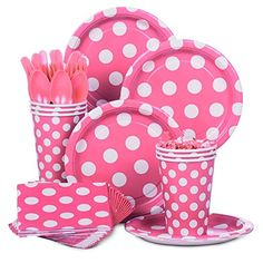 Shopping For Hot Pink Dots Standard Kit Your Next Party Browse Birthday In A Box The Latest Supplies And Accessories Discount