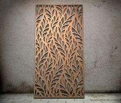 Botanical | Miles and Lincoln | Laser cut screens | Laser cut panels - for bathroom divider wall