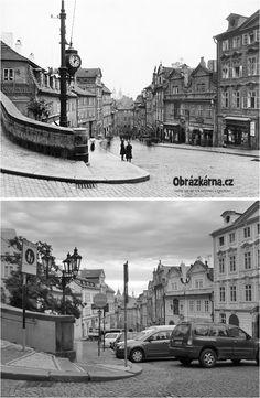 Nerudova ulice okolo r. 1900