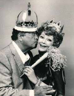 Lucille Ball and Jackie Gleason 1975