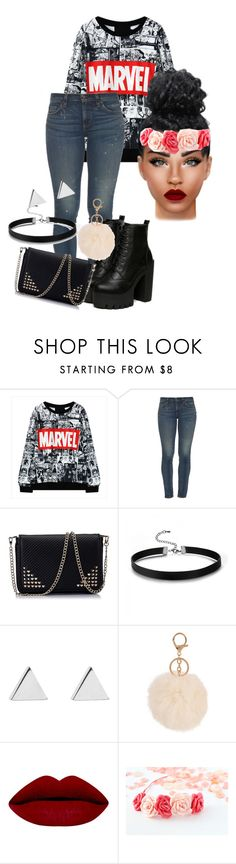 """its was just ramdom"" by dallassanders7 ❤ liked on Polyvore featuring Simon Miller and Jennifer Meyer Jewelry"