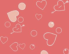 """Check out new work on my @Behance portfolio: """"Heart pattern"""" http://be.net/gallery/44510343/Heart-pattern"""