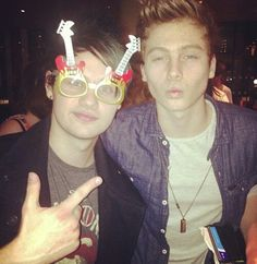 if you don't think they're dorks I have this picture to prove it